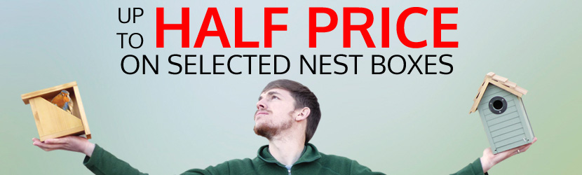 Half Price Nest boxes