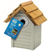 Gardman Beach Hut Nest box sage green